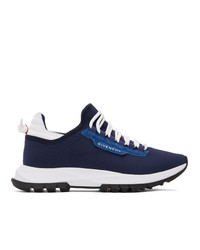 Givenchy Blue Spectre Runner Sneakers