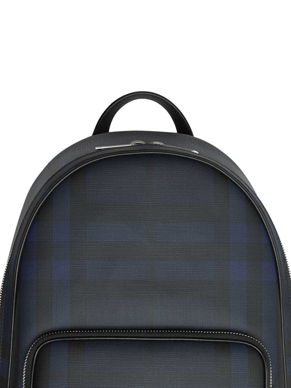 02693f03a Burberry London Check And Leather Backpack, $1,077   farfetch.com ...