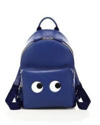 Anya Hindmarch Mini Eyes Leather Backpack