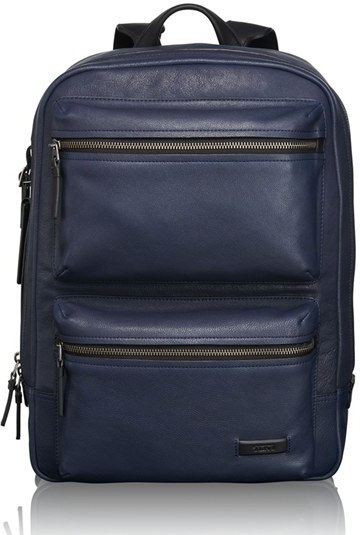 Tumi Mission Bryant Leather Backpack   Where to buy   how to wear 6fdd2e48582
