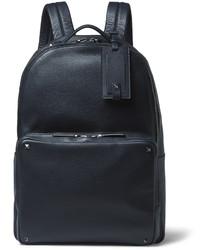 Studded grained leather backpack medium 609847