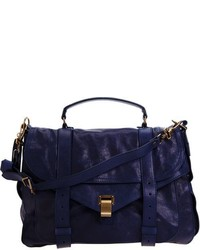 Proenza Schouler Ps1 Extra Large Shoulder Bag Navy
