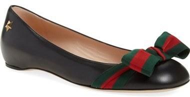 f050fb2ed ... Gucci Aline Bow Ballet Flat ...