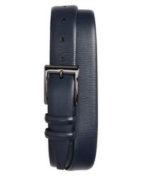 Torino Belts Lizard Embossed Leather Belt