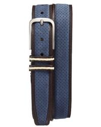 Mezlan Nobuk Leather Belt
