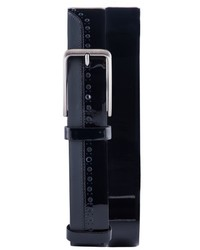 Jared Lang Perforated Leather Belt