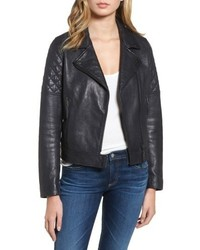 AG Jeans Ag The Larissa Leather Moto Jacket