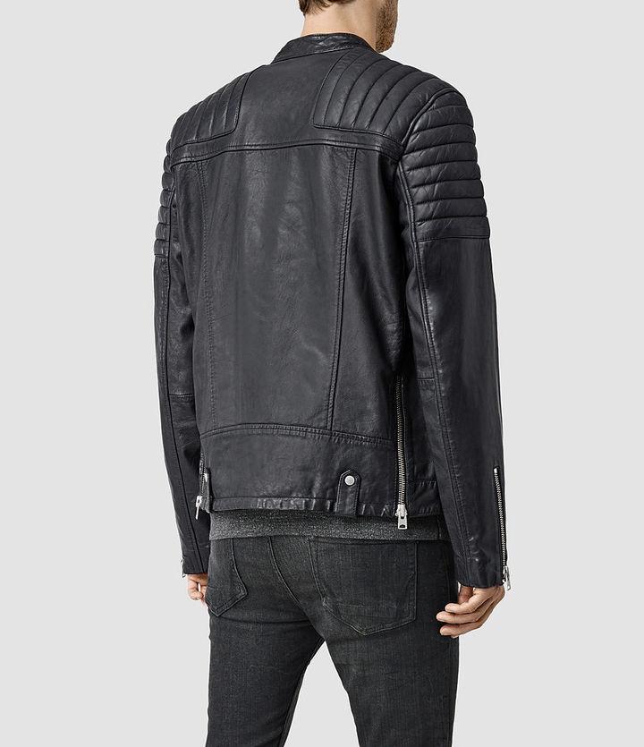 4b85ac737 Jasper Leather Biker Jacket