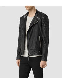 295497bcc7 ... AllSaints Jasper Leather Biker Jacket