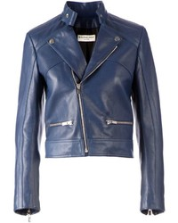 Cropped biker jacket medium 654567