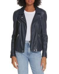 Rebecca Taylor Leather Biker Jacket