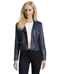 Doma Leather Leather Matellasse Biker Jacket