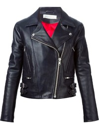 Victoria Beckham Denim Biker Jacket