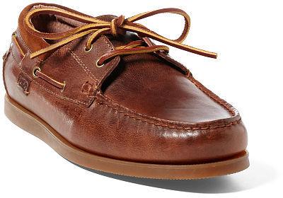 ralph lauren leather shoes