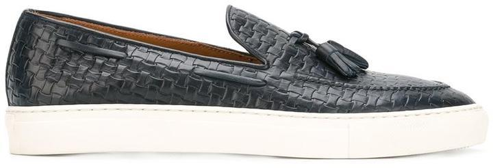 Doucal's Woven Boat Shoes | Where to buy & how to wear