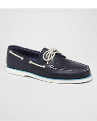 Express Leather Boat Shoe