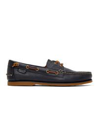 Polo Ralph Lauren Navy Merton Boat Shoe Loafers