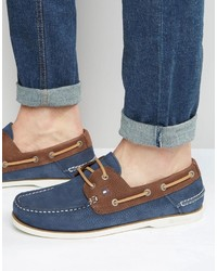 Tommy Hilfiger Nubuck Boat Shoes