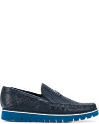 Baldinini Ridged Sole Boat Shoes