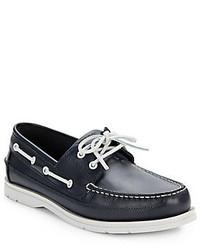 Sebago Grinder Leather Boat Shoes