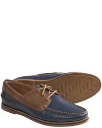 Florsheim Tienomite Boat Shoes Leather