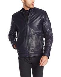 Calvin Klein Premium Leather Moto Jacket