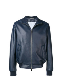 Canali High Neck Bomber Jacket