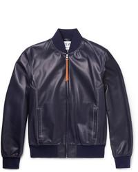Leather bomber jacket medium 5363257