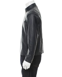 Michael Kors Michl Kors Leather Moto Jacket