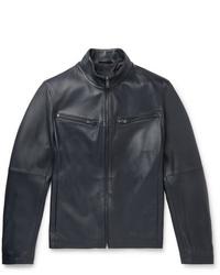 Hugo Boss Nocklin Leather Jacket