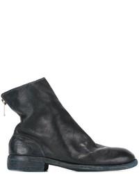Guidi full grain back zip boots medium 819737