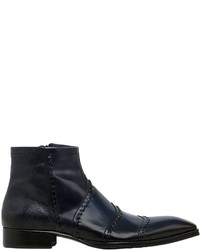 Smooth leather ankle boots medium 3675334