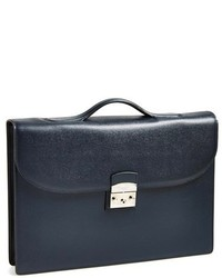 Canali Leather Briefcase