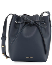Calf leather mini mini bucket bag medium 3745805