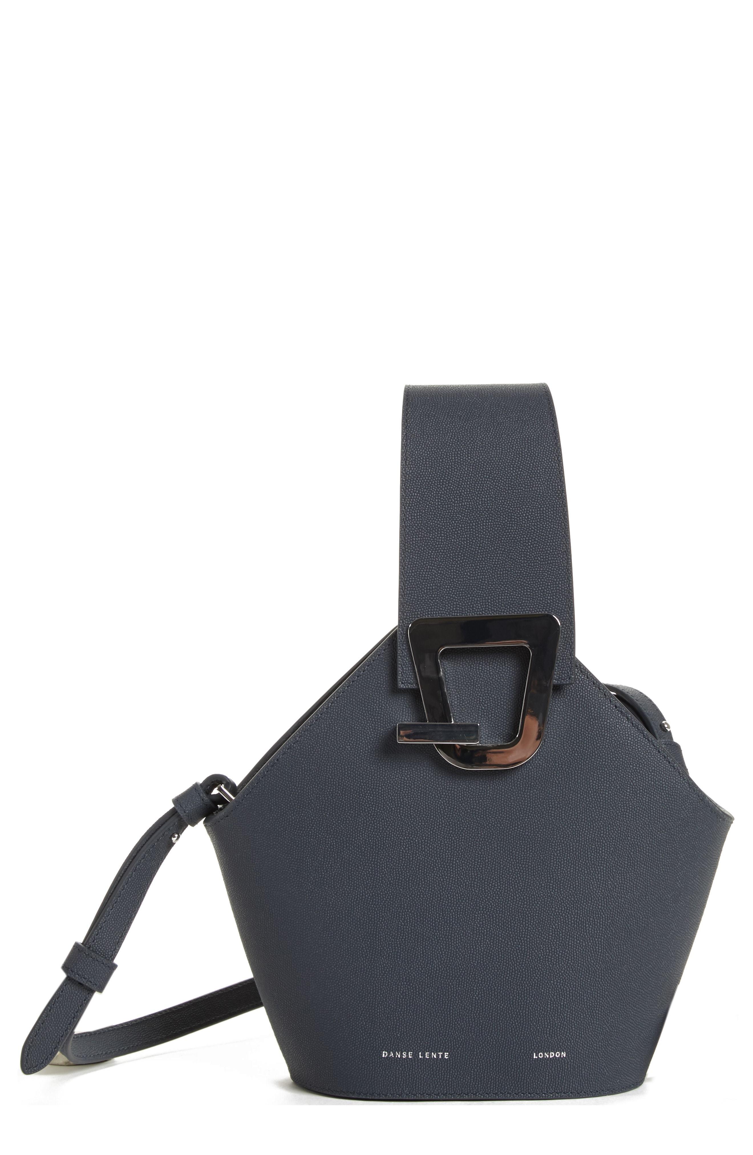 80ae6df8bb87 ... Danse Lente Mini Johnny Leather Bucket Bag