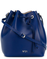 No.21 No21 Drawstring Bucket Bag
