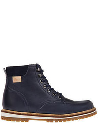 Lacoste Montbard Faux Fur Lined Leather Boots