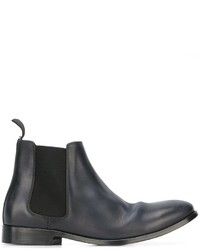 a068449c8eb Men s Navy Chelsea Boots by Paul Smith