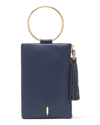 THACKE R Nolita Ring Handle Leather Clutch