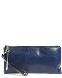 Vida leather clutch grey medium 4471877