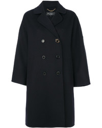 Salvatore Ferragamo Gancio Double Breasted Coat