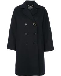 Salvatore Ferragamo Gancio Double Breasted Coat