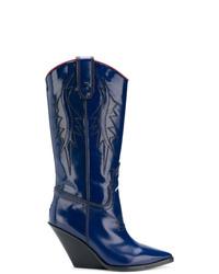 Diesel D West Cowboy Boots