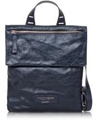 Francesco Biasia Beautiful Day Leather Flat Crossbody Bag