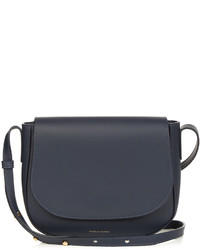 Mansur Gavriel Cross Body Leather Satchel Bag