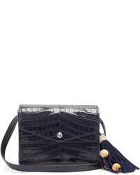 Elizabeth and James Eloise Crocodile Effect Leather Cross Body Bag