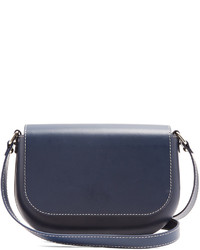 A.P.C. James Leather Cross Body Bag
