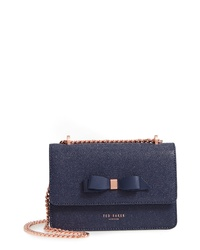 Ted Baker London Jayllaa Bow Leather Crossbody Bag
