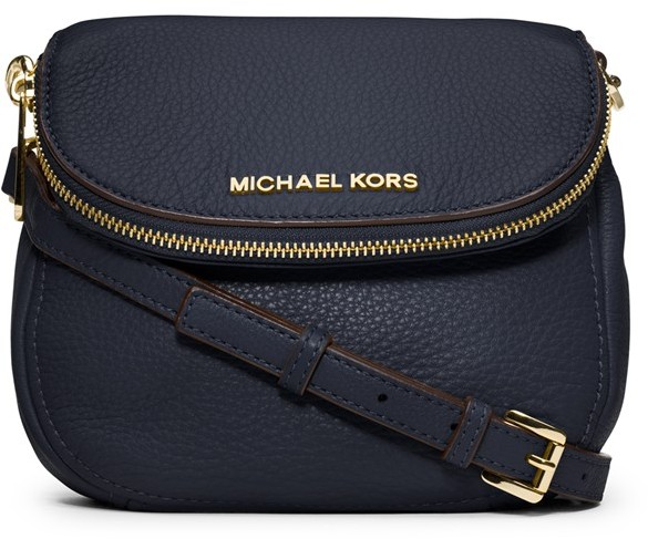 c0ab5a4f35 ... Navy Leather Crossbody Bags MICHAEL Michael Kors Michl Michl Kors  Bedford Leather Crossbody ...