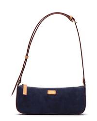 Frances Valentine Nubuck Baguette Bag
